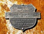 Lancashire Dynamo and Crypto Builder's Plate, Marble Bar, WA